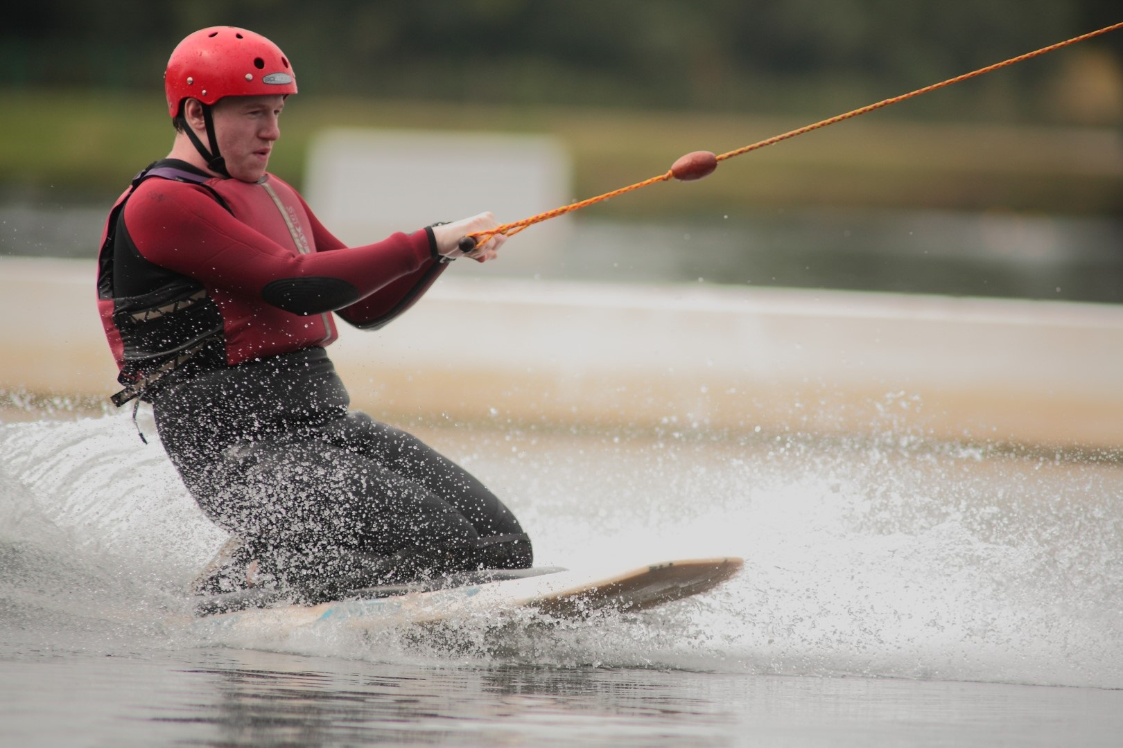 wakeboarding at holme pierrepont country park