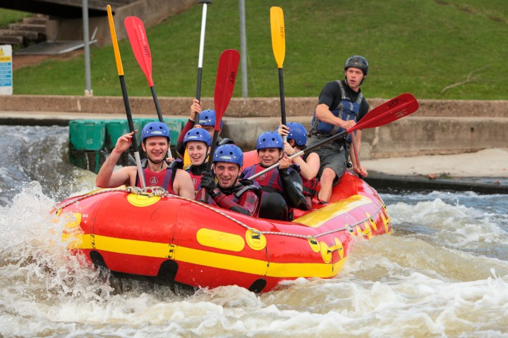 Team Building White Water Rafting